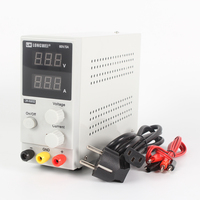 New DC Power Supply LW-K605D 60V 5A Mini LCD Digital Display Adjustable Laboratory Regulated Switching Power Supply 110V / 220V Voltage Regulators/Stabilizers