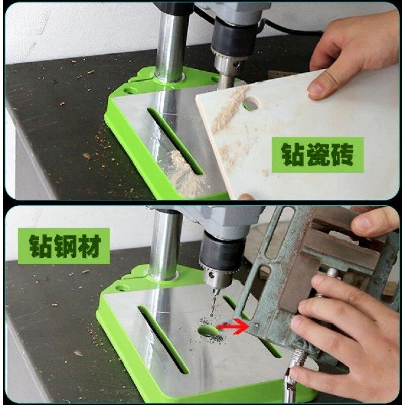 Mini bohrmaschine Bohrmaschine 220 v 710 watt Bank Kleine elektrische Bohrer Maschine Werkbank DIY werkzeug