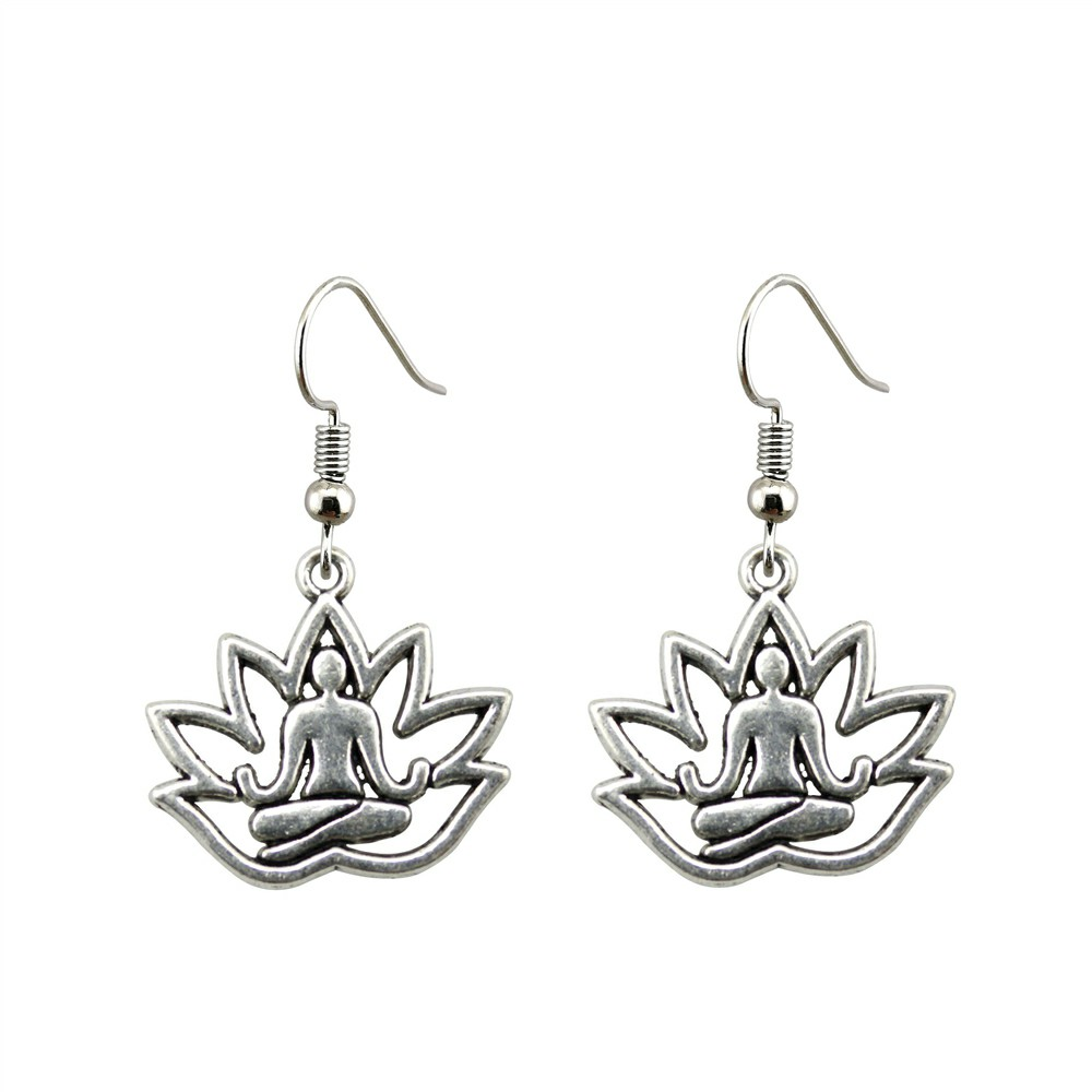 Women's Meditation Drop Earrings 2