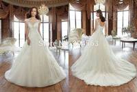 2016 round collar short sleeve applique wedding dress to marry without back of a chair back strap WE4758 bride