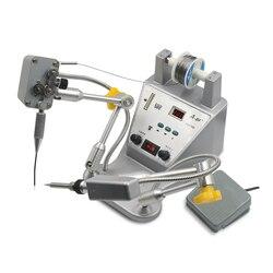 Macchina di saldatura Automatica di Saldatura Robot di Saldatura Stazione di Saldatura Della Torcia di Saldatura della Latta di Ferro HS376D