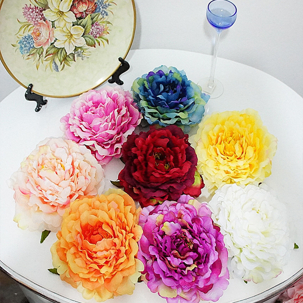 16cm 10pcs Cheap Artificial Flowers For Home Vases Wedding Party