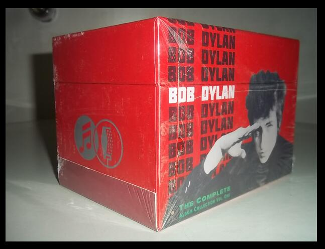 2018 Hot Sale Hard Bag Smok Alien Music Cd Sale Real Hard Bag Free Shipping: Bob Dylan 47cd Box Deluxe Complete Collection Seal 2016 new bob dylan the 1966 live recordings 36cd music cd box set factory sealed boxset free shipping