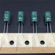 100 шт. 100 мкФ 35 В suncon (sanyo) CZ серии 6.3×11 мм 35v100uf Алюминий электролитический конденсатор