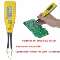 Holdpeak HP 990C SMD Digital Insulation tester Multimeter Auto Power off Resistance Capacitance Power Battery Insulation Tester