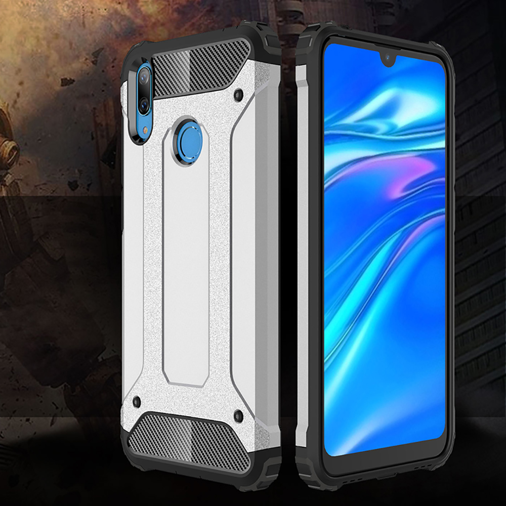 Shockproof Armor Coque <font><b>Cover</b></font> 6.26For <font><b>Huawei</b></font> <font><b>Y7</b></font> <font><b>2019</b></font> Case For <font><b>Huawei</b></font> <font><b>Y7</b></font> <font><b>Prime</b></font> <font><b>2019</b></font> DUB-LX1 DUB-LX3 Phone <font><b>Back</b></font> Coque <font><b>Cover</b></font> Case image