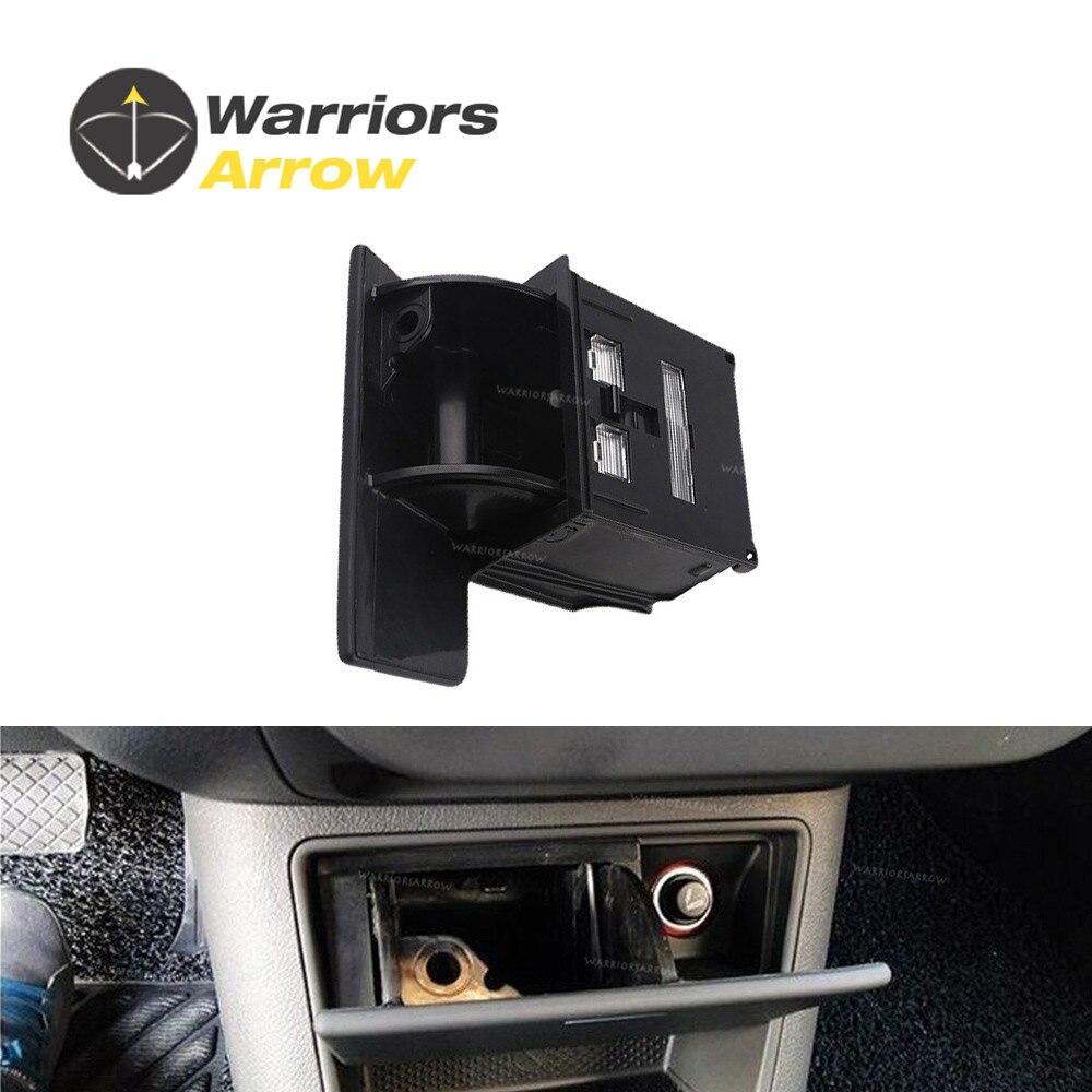 5nd857961 For Vw Tiguan Golf Plus 2009 2010 2011 2012 2013 2014 Fuse Box Black Ashtray Console Storage