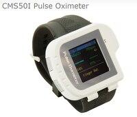 Лучшая цена новый стиль часы пульсоксиметр с дисплеем PR Pi SpO2 значение импульса насыщения кислородом с оксиметр зонда cms50i
