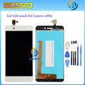 100% Guarantee Display With Touch Screen Digitizer Assembly For Lenovo S60w S60-T s60-a LCD 1pcs Free Shipping + tool