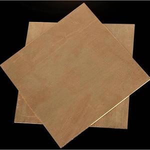 Image 5 - Placa de chapa de cobre de pureza del 99.9%, buen comportamiento mecánico y estabilidad térmica, 100x100x0,8mm, 1 Uds.