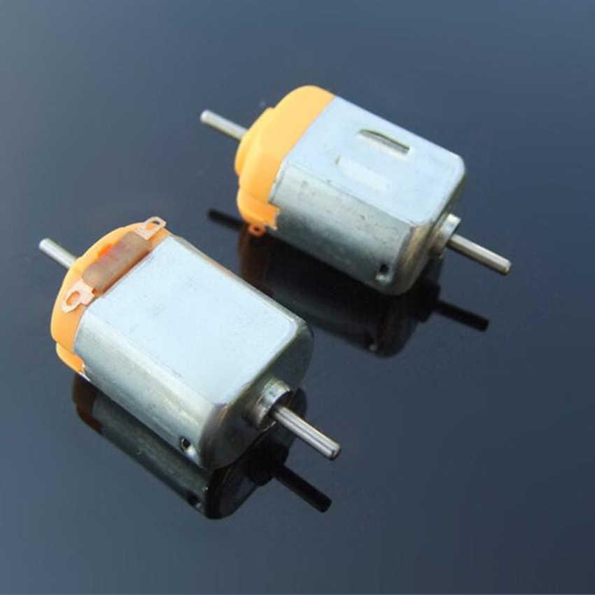 1 stück 130 Doppel Ausgang Welle DC Spielzeug Motor 1,5-6 v 3 v 11000 rpm DIY Modell Wissenschaft experiment Starke magnetische