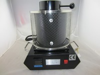 220V High Temperature Melting Furnaces Silver Gold Melting Furnace With 1KG Graphite Crucible Jewelry Casting Machine