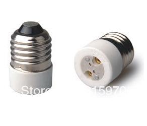 Free Shipment Lamp Holder Converter Adapter To Convert E26/E27 To MR16/MR11/G4/G6.35  E27 To G4 Converter 5pcs/lot