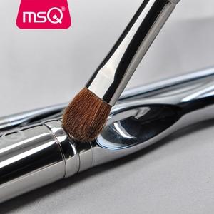 Image 5 - MSQ Professional 11pcs แปรงแต่งหน้าแปรงแต่งหน้า CLASSIC Eyeshadow Lip Foundation แปรงแต่งหน้าแพะ/ม้า PVC จับ