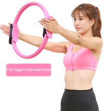 Professional Fitness Yoga Circles Pilates Ring Wheel Slimming Body Building Circle Accessories 4 colors