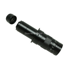 Discount! 10X ~ 180X Adjustable Working Distance Zoom C lens 0.7X ~ 4.5X Industrial Microscope Camera 2X Auxiliary Eyepiece Magnifier