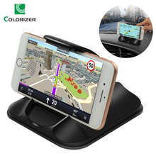 Автомобильный держатель для телефона Dashboard сильная липкая 3 м автомобиля кронштейн для 3 7 Inch iPhone samsung gps нескользящие многоразовые гель колодки коврик