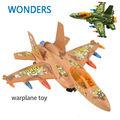 Истребители боевых самолетов мигалками звук самолет модели игрушка для детей