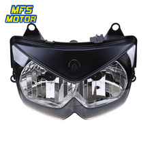 цена на For 08-12 Kawasaki Ninja 250R EX250 Motorcycle Front Headlight Head Light Lamp Headlamp Assembly 2008 2009-2012