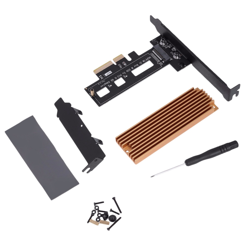 m.2 key m extender cable adapter support nvme ssd r44sf