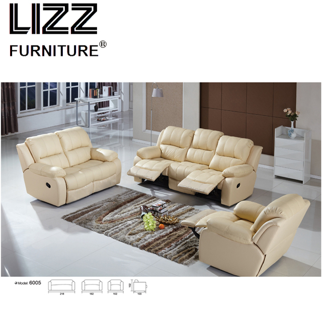 electric sofa set good quality leather newest luxury home furniture armchair off white modern recliner