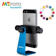 MeFOTO SideKick360 MPH100 kolorowy smartfon Adapter statywy do telefonu uchwyt lekki uchwyt Mini statyw wlać telefon tanie tanio Smartfony Profesjonalny statyw Z włókna węglowego 100g 12mm 0 5kg 2 3-2 8 (58-73mm) 1 4 -20 3 8 -16 Fits Arca-Swiss Style