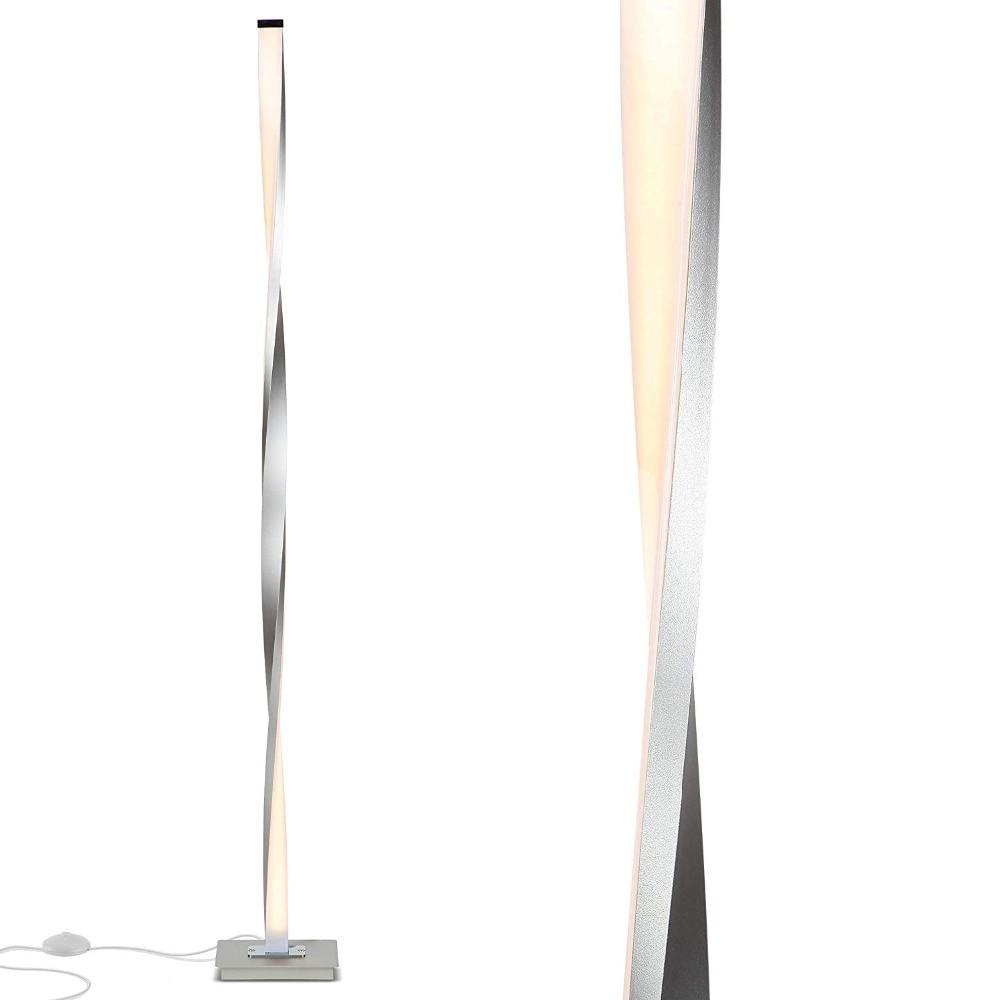 LED Floor Lamp For Living Rooms Modern Standing Pole Light