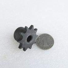 """06B 10T 10 зубьев шаг 9,525 мм 3/"""" отверстие не больше 10,3 мм промышленная Трансмиссия вождения одиночные звездочки механические части"""