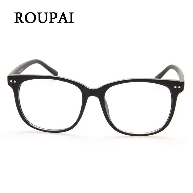 ROUPAI Brillen Rahmen Frauen Luxus Augenrahmen Männer Hohe Qualität ...