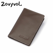 ZOVYVOL 2019 NEW Mini Hombre RFID Coin purses Genuine Leather Card Holder for Men Women Slim ID Credit Wallet Holders