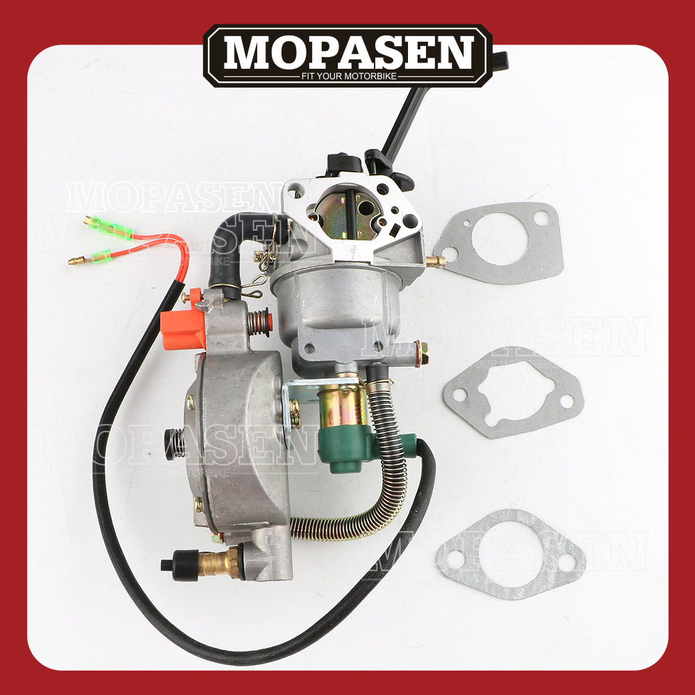 Carburetor Fuel System Carburetor For GX390 GX 390 188 13HP Generator Fuel Replacement Motorbike Accessories Free Shipping