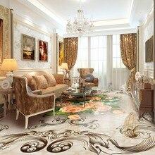 freies verschiffen vintage rose marmorboden benutzerdefinierte bodenbelag 3d bad wohnzimmer tapete wasserfest selbstklebende wan - Marmorboden Wohnzimmer