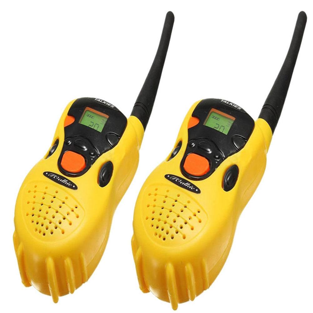 Children Smart Wireless Calls Toy Walkie-talkie One Pair Parent-child Interactive Dialogue Games