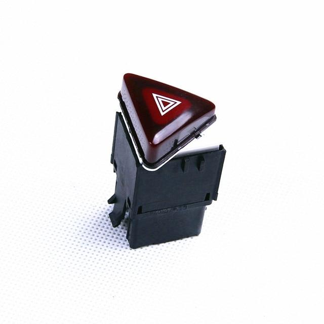 TUKE OEM Danger alarm switch warning converter - dark red VW Golf GTI MK5 Jetta Lapin 18G 953 509 A 18G 953 509