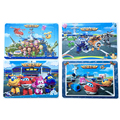 Super Wings Puzzle - 20*15cm 16pcs Toys for children - Wooden Toys Puzzles Superwings - Super Wing Puzzles - Sale Cheapest