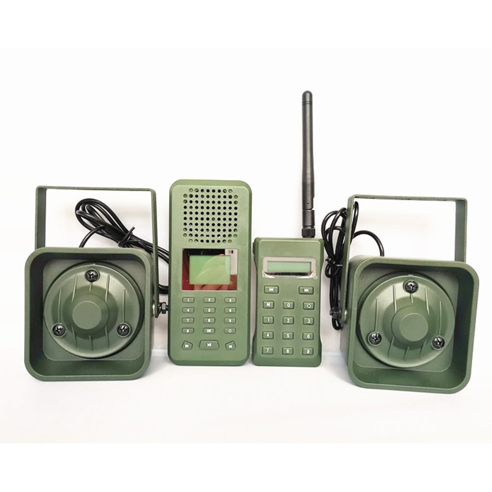 Image 2 - Decoy Hunting Brid caller 300 500m Remoteremote Control 2*50W External Loud Speaker Electronics Animal Caller for Hunting-in Hunting Cameras from Sports & Entertainment