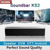 MECOOL KS2 Sound Bar DVB T2 Android Smart TV Box S905 Quad core 1GB 8GB Clear Speaker Android Set Top Box Media Player