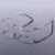 Новые мужские Оправы для очков Половина Rimless Titanium Очки Рамки Мода Марка Óculos Де Грау RS-1006