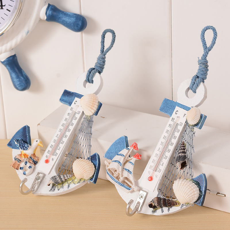 DIY Children Room Decoration Thermometer Crafts Anchor