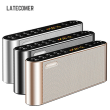 Latecomer Q8 New Bluetooth Portable Speaker High-definition dual Wireless speakers with Mic TF FM Radio Loudspeakers Sound Box