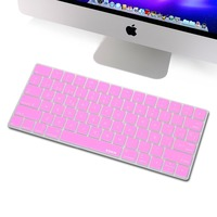 For Magic Keyboard Spanish Skin Protector XSKN Spanish Language Silicone Keyboard Cover For Apple Wireless Magic
