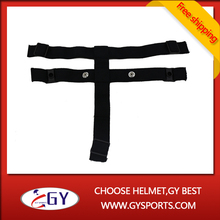 ice hockey helmet accessories straps or belt with purified cotton material black white soft