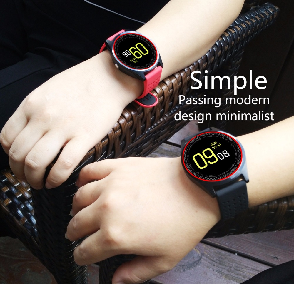 2018 V9 touch screen smart watch with Camera bluetooth Smartwatch for Samsung Huawei Xiaomi Smartwatch android sim pk dz09 A1