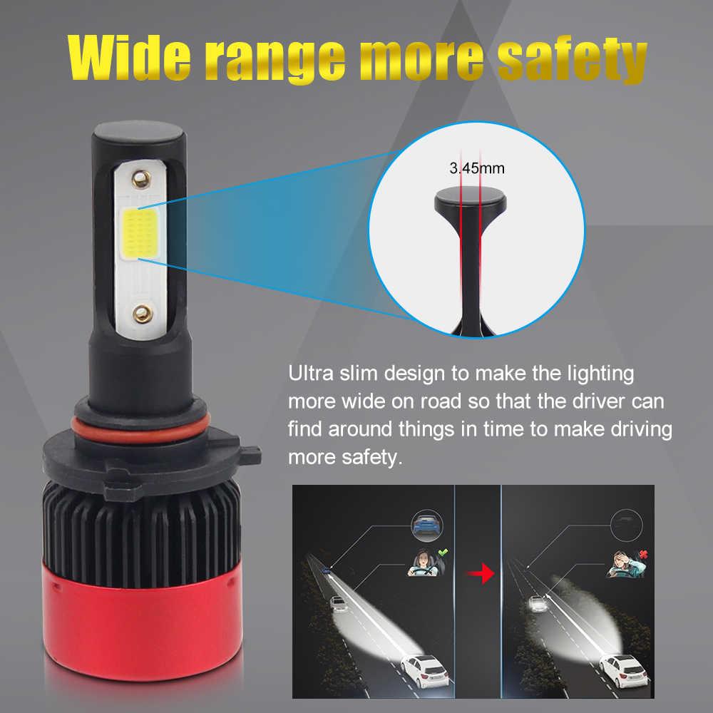 BraveWay LED Bulb H4 HB4 9006 Led Headlight Bulbs for Motorcycle Cars Led Auto Fog Lamp H8 H11 9005 HB3 H7 Car Lights