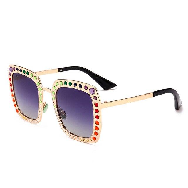 b99fab5ab8 New Fashion Sunglasses For Womens Popular Shield Square Glasses Good  Quality Shades Eyewear Bling Glitter Trending
