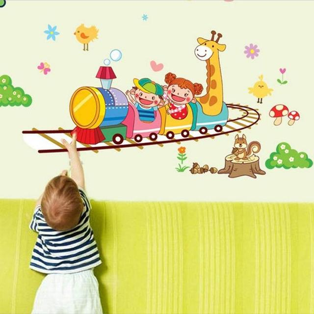 pegatinas de pared para nios decoracin imn brinquedo desenho vinilos paredes decoracin