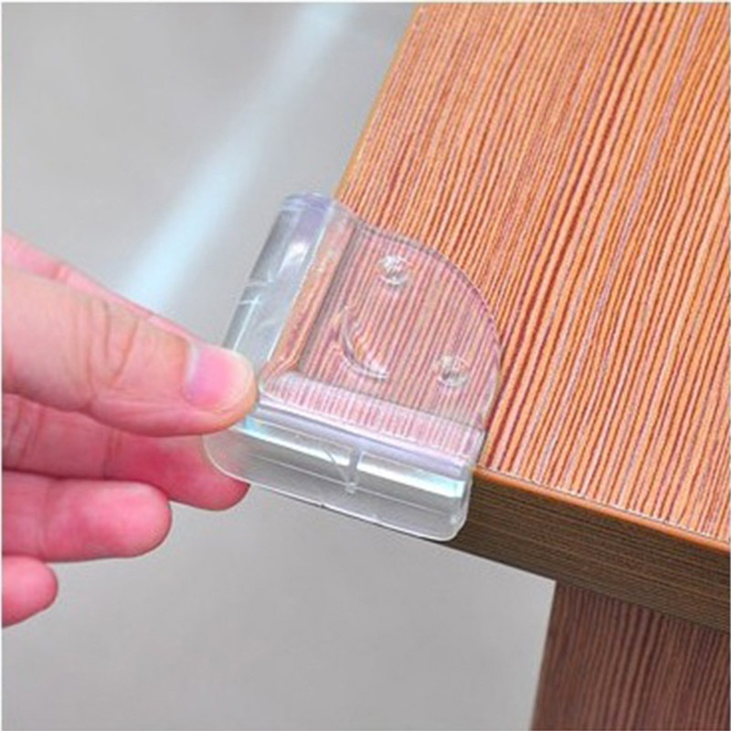 10 Pcs Child Baby Safety Silicone Protector Table Corner Edge Protection Cover Anticollision Edge & Corner Guards SAFE