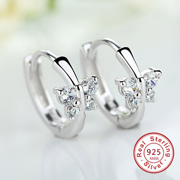 Luxury 925 Sterling Silver Classic Butterfly Austrian Crystal Stone Earrings Bridal Wedding Ceremony Propose Jewellery.jpg 640x640 - Luxury 925 Sterling Silver Classic Butterfly Austrian Crystal Stone Earrings Bridal Wedding Ceremony Propose Jewellery