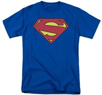 Short Sleeve Cotton Top Tee Man Clothing T Shirt Superman: New 52 Shield T-Shirt Summer Sale 100 % Cotton