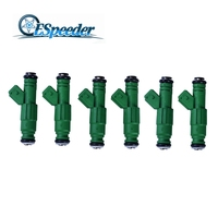 ESPEEDER 6pcs High flow 440CC Fuel Injector For Ford Focus Taurus Thunderbird Mustang Mustang GT LX and Cobra